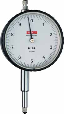 KÄFER Dial Gauge M 10 a - Reading: 0.1 mm - Range: 10 mm