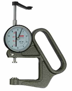 KAFER Dial Thickness Gauge K 50 / 3 - Reading: 0.1 mm